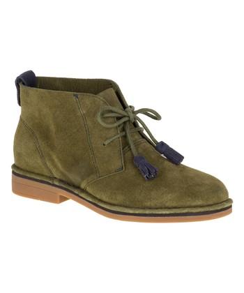 8a5abc8bb745 Dark Olive Cyra Catelyn Suede Chukka Boot - Women