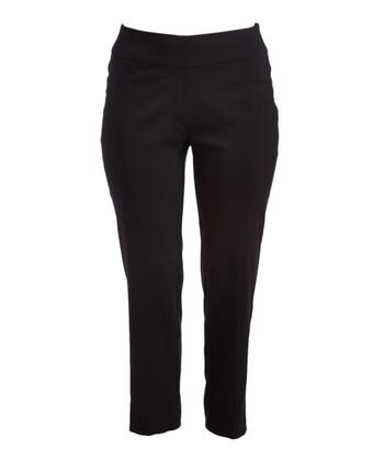 a4e96a8a91f18 Black StretchTech Twill Pant - Women