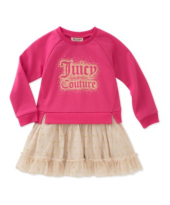 Pink  Juicy  A-Line Dress - Toddler 9ad8f2fc52