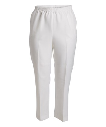 c59b2338db5 ... Alfred Dunner 27 results. 29   White Pull-On Pants - Plus