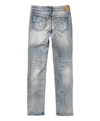 b762db66f24 Bleach-Wash Sasha Skinny Jeans - Toddler