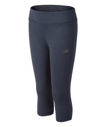 c16c1ef608ca1 Gray Capri Leggings - Girls