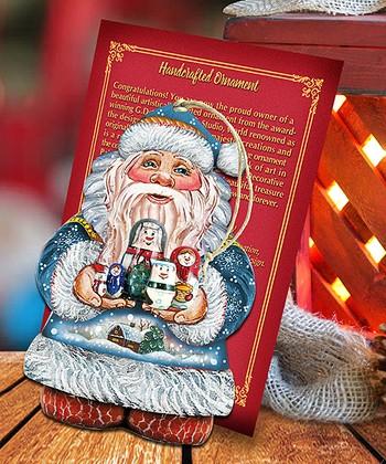 Debrekht Football Santa Gift Expressions Santa 4 G