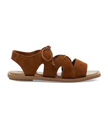 Cinnamon Suede Calipso Sandal - Women e4d375eda372
