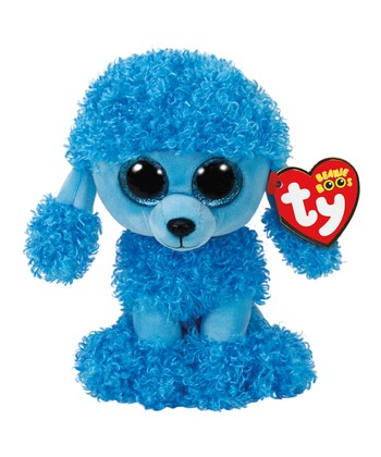 Mandy the Blue Poodle Beanie Boo Plush Toy 598abfca04f