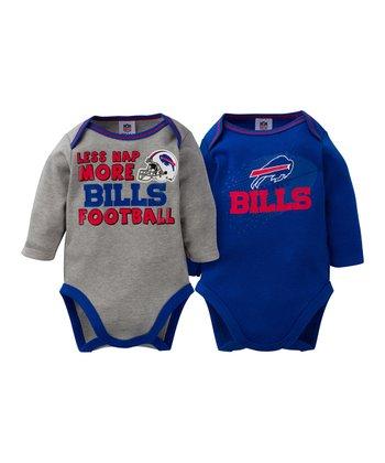 Buffalo Bills Long-Sleeve Bodysuit Set - Infant 2a42d935063a