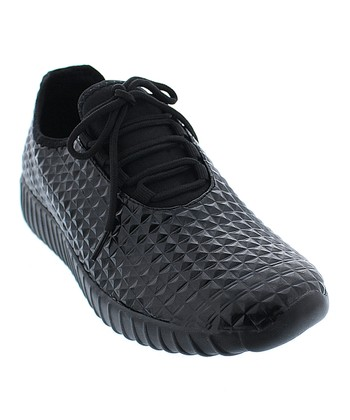 Black Stizz Sneaker - Women