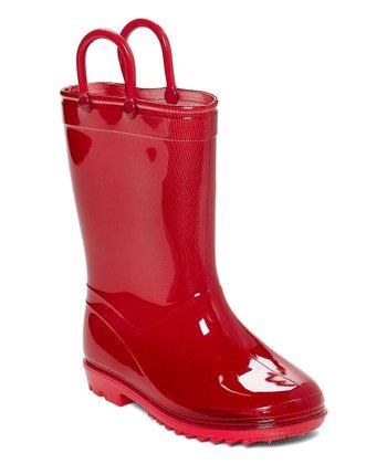 f998230df48a Red Rain Boot - Kids