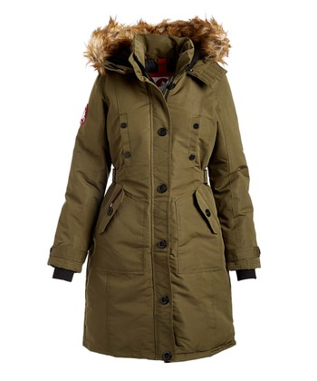 dc7178de91e52 Canada Weather Gear - Faux Fur Hooded Puffer Coats