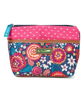 Electric Fl Brielle Cosmetic Pouch