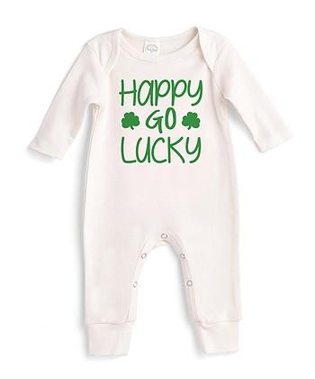ea52ee2ea85 Ivory  Happy Go Lucky  Romper - Infant