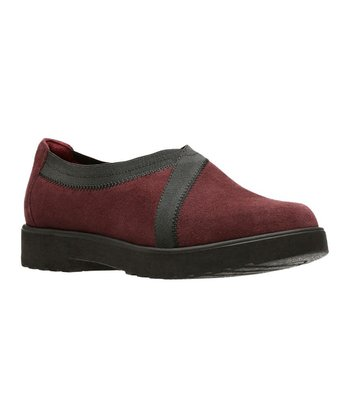 942ac966477 Burgundy Bellevue Cedar Suede Loafer - Women