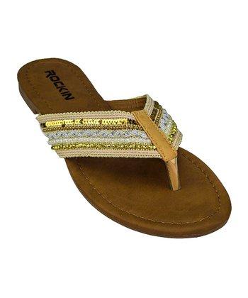 878179b32156f Biege Vintage Nude Sandal - Women