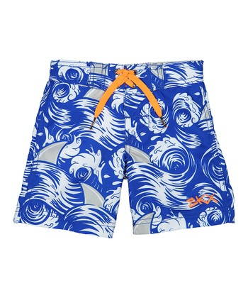 45a36d4723 Blue Board Shorts - Boys