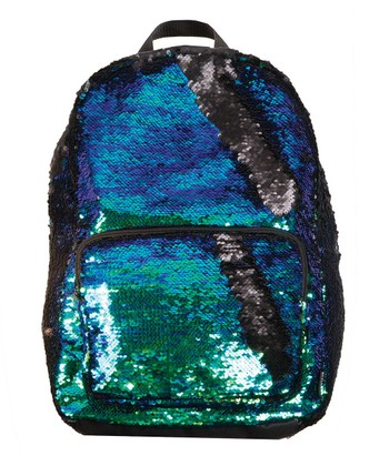 6d3121d239 Mermaid Blue   Black Magic Sequin Backpack