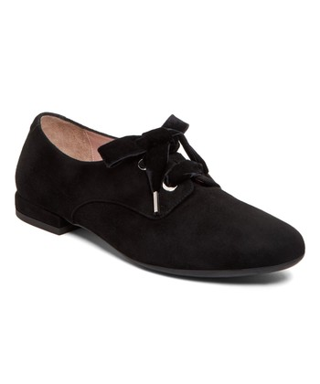 f06e3b7df181 Black Eva Suede Oxford - Women