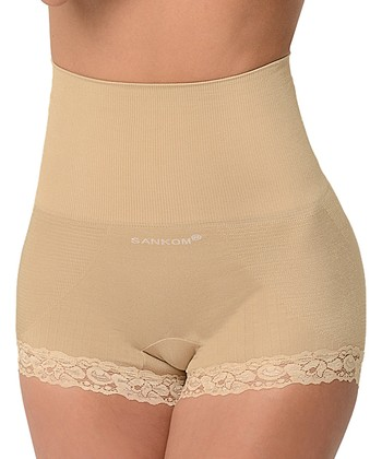 becee82e2793c Nude Cooling Graduated Compression Shaper Briefs - Women