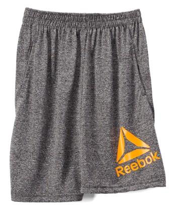 a390cad6233f Shark Heather  Reebok  Delta Logo Shorts - Toddler
