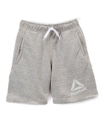 d7544961ea7d Heather Side Delta Gray Shorts - Toddler