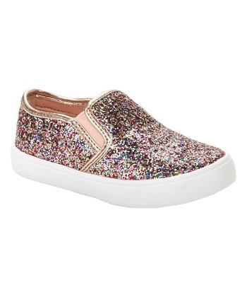 13083f20701 Rose Gold Tween Slip-On Sneaker - Girls