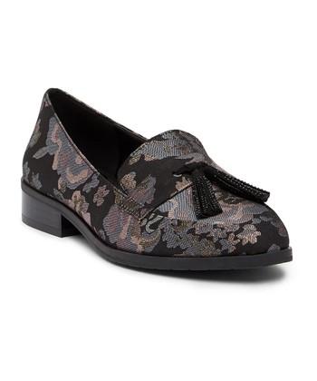 c5afeaf3a01 Black Floral Jet Ahead Loafer - Women