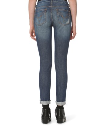 1c6fe872006 Medium Wash Chelsea Distressed Skinny Jeans - Women