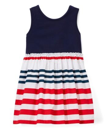 04e58df12 Navy A-Line Dress - Infant