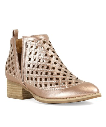 ebbfb159ac7 Rose Gold Abby Bootie - Women