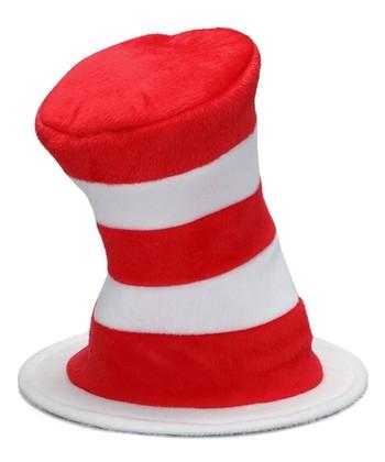 aeacba5cc75 Dr. Seuss Cat in the Hat Velboa Plush Hat