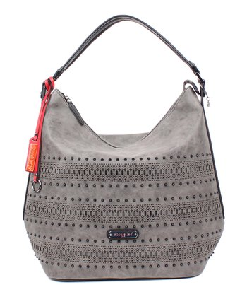 894b60c573a4 Black Perforated Sloane Hobo