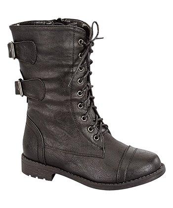 Black Pack Combat Boot - Women 4b638a2e2