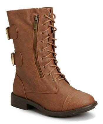 dc4cee9c0fc4 Tan Pack Combat Boot - Women