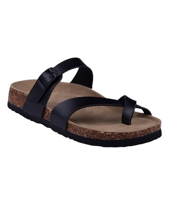 a739c94a039 Black Crisscross Sandal - Women