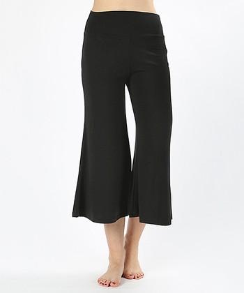 3171c509f2cc1 Black Gaucho Pants - Women