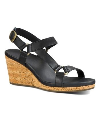 fb21cc501 Black Arrabelle Universal Leather Sandal - Women