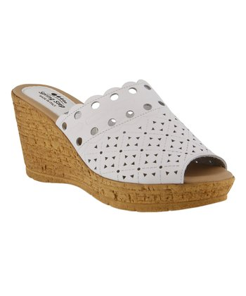 93b89ee87 White Nava Leather Sandal - Women