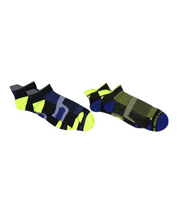 ab213f6464 Black   Blue XP Non-Cushion Two-Pair Socks Set – Unisex - Adult