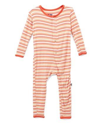 493941bf9c5 Pink Freshwater Stripe Playsuit - Newborn