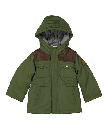 e28306543 Olive Drab Four-in-One Hooded Coat - Infant & Toddler