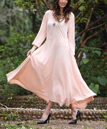 7c999ec7aec Pink Handkerchief Maxi Dress - Women