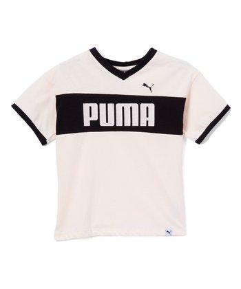 62956c65b57d Pearl  Puma  Drop-Shoulder V-Neck Tee - Girls