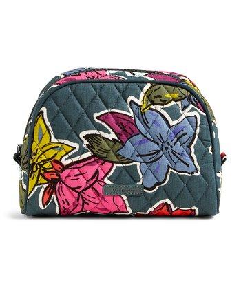 413c50901b Falling Flowers Medium Cosmetic Bag