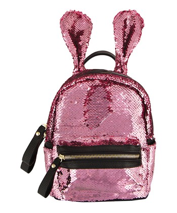 704c94b2ed S. Lab Sequin Bunny Mini Backpack-Muted Pink