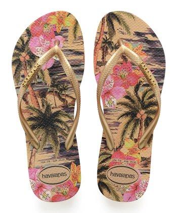 6fd389d41 Ivory Tropical Slim Flip-Flop - Women