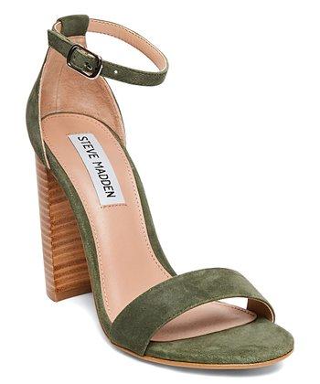 e10de1dcc99f Olive Carrson Suede Sandal - Women