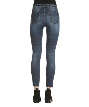 52dbc4d2705 Medium Wash Studded Marley Mid-Rise Super Skinny Jeans -Women - Women