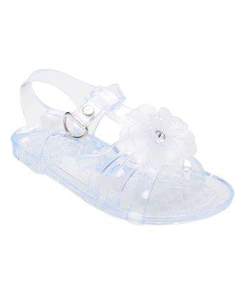 e74831e4c Clear Flower Jelly Sandal - Girls
