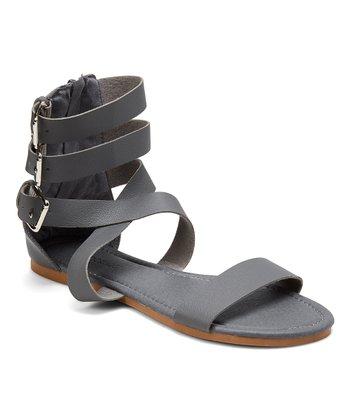 9899d2fd219 Gray Buckle Gladiator Sandal - Women
