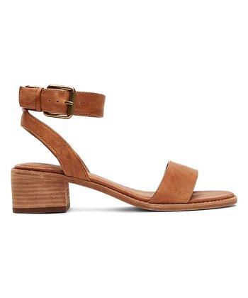 702b5c21139 Camel Cindy Two-Piece Leather Sandal - Women