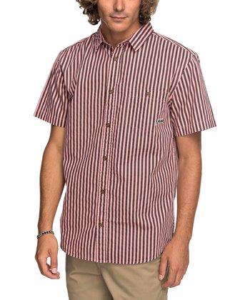 63fe48cb7e23 Mineral Red Bro Stripe Button-Up - Men
